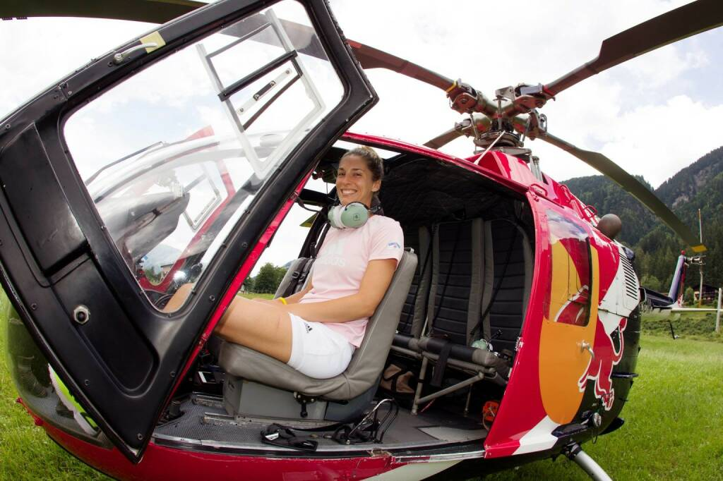 Andrea Petkovic Red Bull Helikopter, &copy;  <a href=