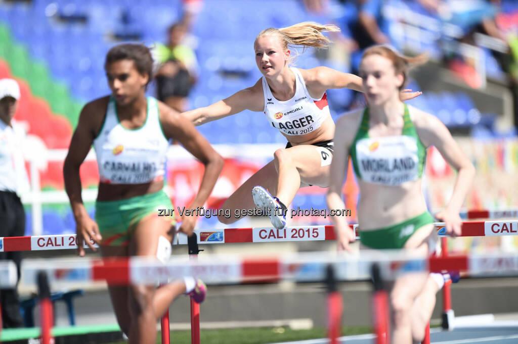 Sarah Lagger, 100m Hürden (Bild: ÖLV/Jiro Mochizuki) (19.07.2015)