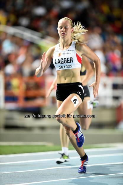 Sarah Lagger, 200m (Bild: ÖLV/Jiro Mochizuki) (19.07.2015)