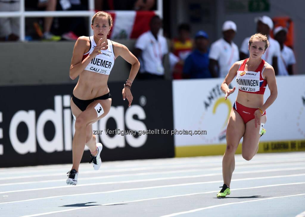 Ina Huemer, 200m (Bild: ÖLV/Jiro Mochizuki) (19.07.2015)
