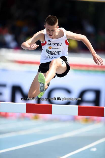 Bernhard Obrecht, 2000m Hindernis (Bild: ÖLV/Jiro Mochizuki) (19.07.2015)
