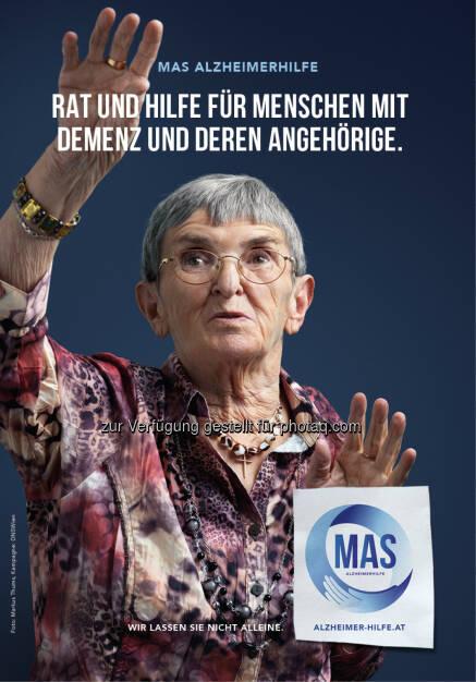 MAS Alzheimerhilfe: Broschüre: Rat und Hilfe für Menschen mit Demenz und deren Angehörige (C) MAS Alzheimerhilfe  , © Aussender (20.07.2015)