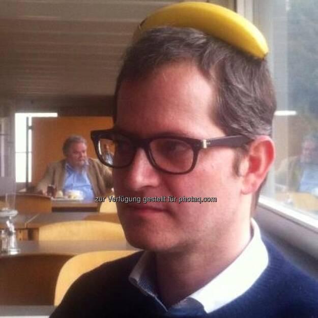 Bananing Clemens Haipl - Neuer Frisurentrend Business Typ , mehr in dieser Art bitte an zentralfotosammelstelle@finanzmarktfoto.at , siehe auch die Sammlung unter http://www.finanzmarktfoto.at/page/index/269 (13.03.2013)