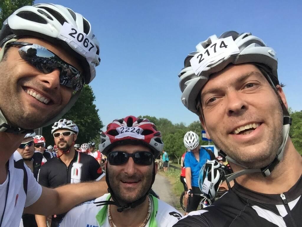 Selfie vor dem Start (20.07.2015)