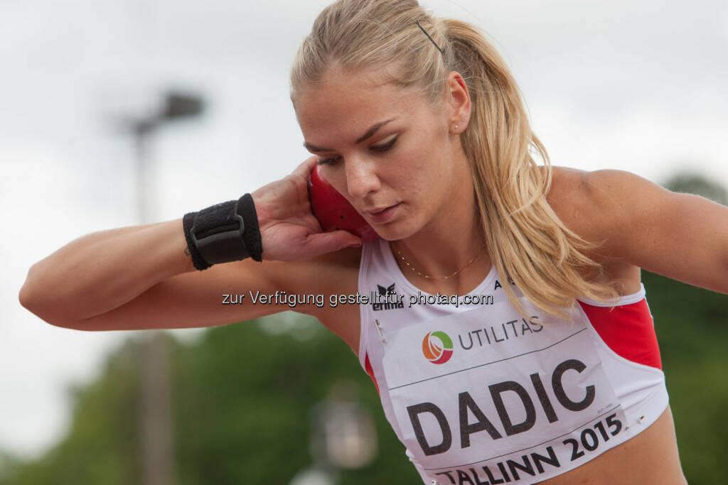 Ivona Dadic, Kugelstossen (Bild: ÖLV/Coen Schilderman) (20.07.2015)