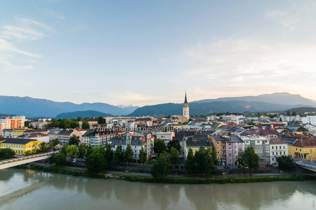 Villachs Altstadt ist interessant für Handelsbetriebe, Dienstleister und Gastronomie : © Fotograf: Michael Stabentheiner/Fotocredit: Region-Villach , © Aussender (21.07.2015)