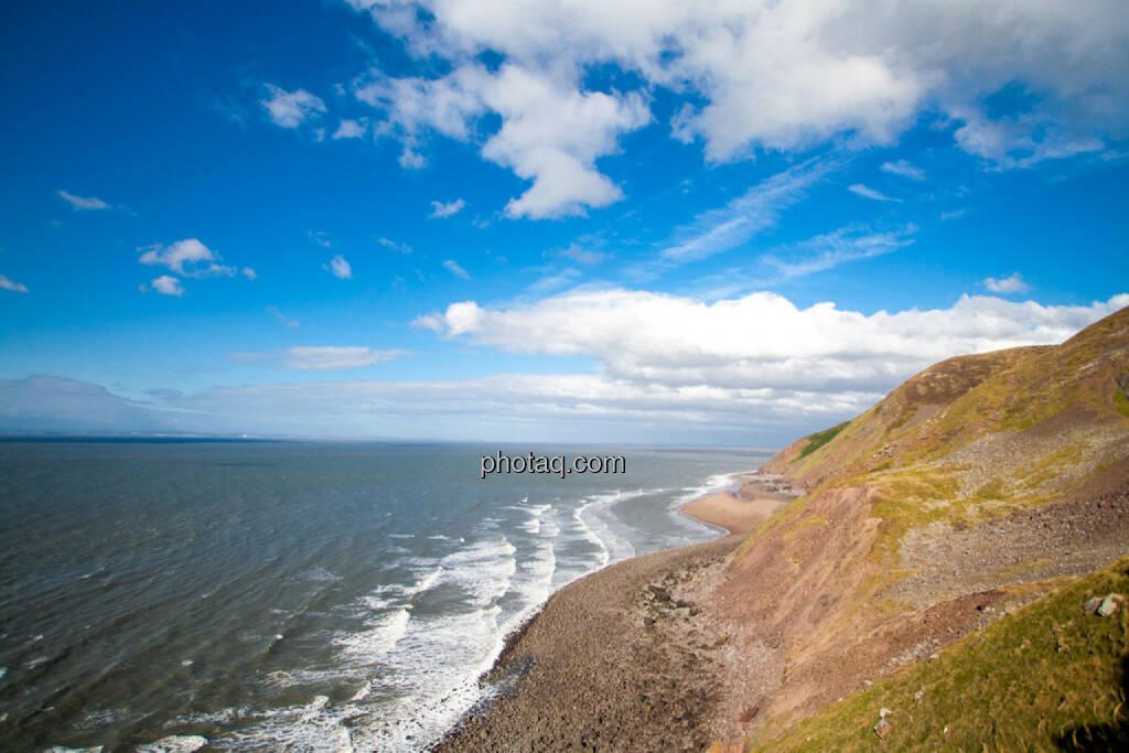 Küste Richtung Minehead, © Martina Draper (21.07.2015)