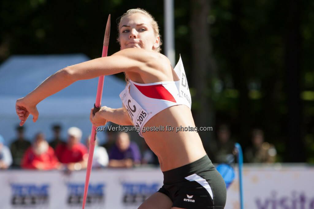 Ivona Dadic, Speerwerfen (Bild: ÖLV/Coen Schilderman) (21.07.2015)