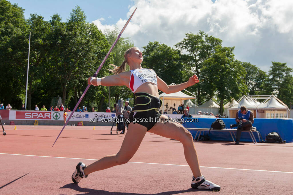 Verena Preiner, Speerwerfen (Bild: ÖLV/Coen Schilderman) (21.07.2015)