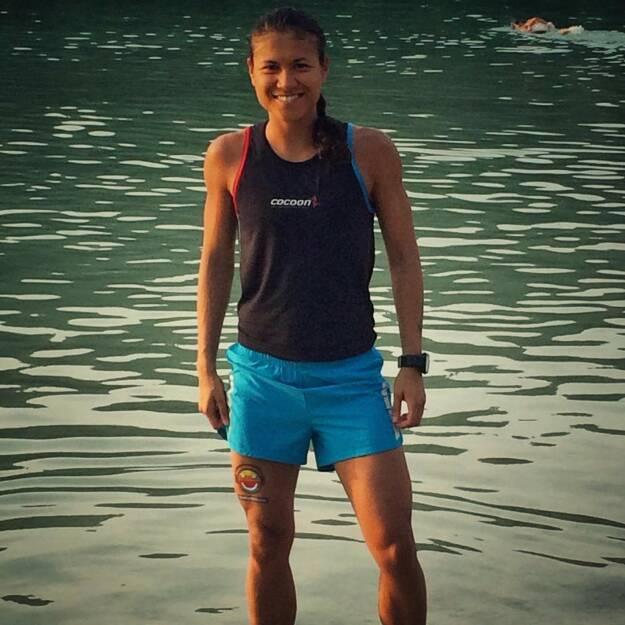 Sommer - Annabelle Mary Konczer (Tristyle Runplugged Runners) beim Erlaufsee Nightrun   (22.07.2015)