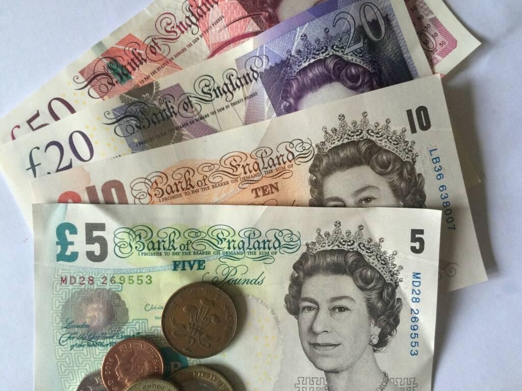 Britische Pfund, pounds, © photaq (22.07.2015)