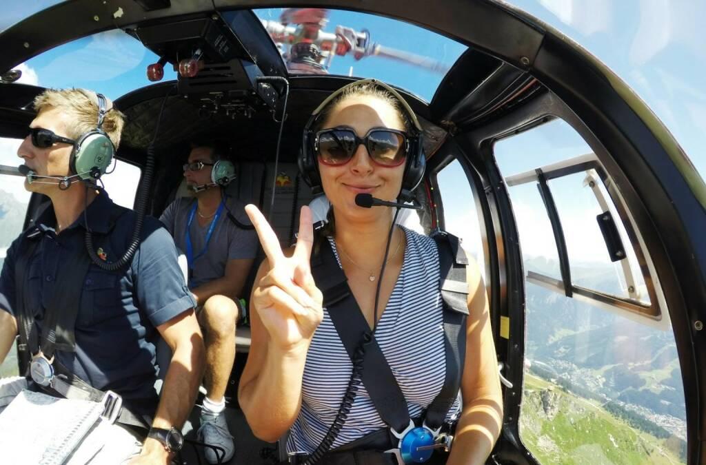 Yes Tamira Paszek Red Bull Hubschrauber, &copy;  <a href=