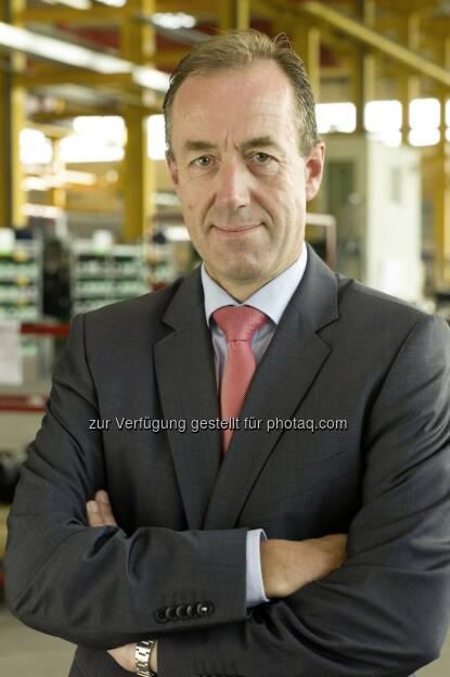 Jan Willem Jongert, CEO der Schwarzmüller Gruppe : Ergebnisqualität deutlich gesteigert : © Wilhelm Schwarzmüller GmbH, © Aussender (23.07.2015)