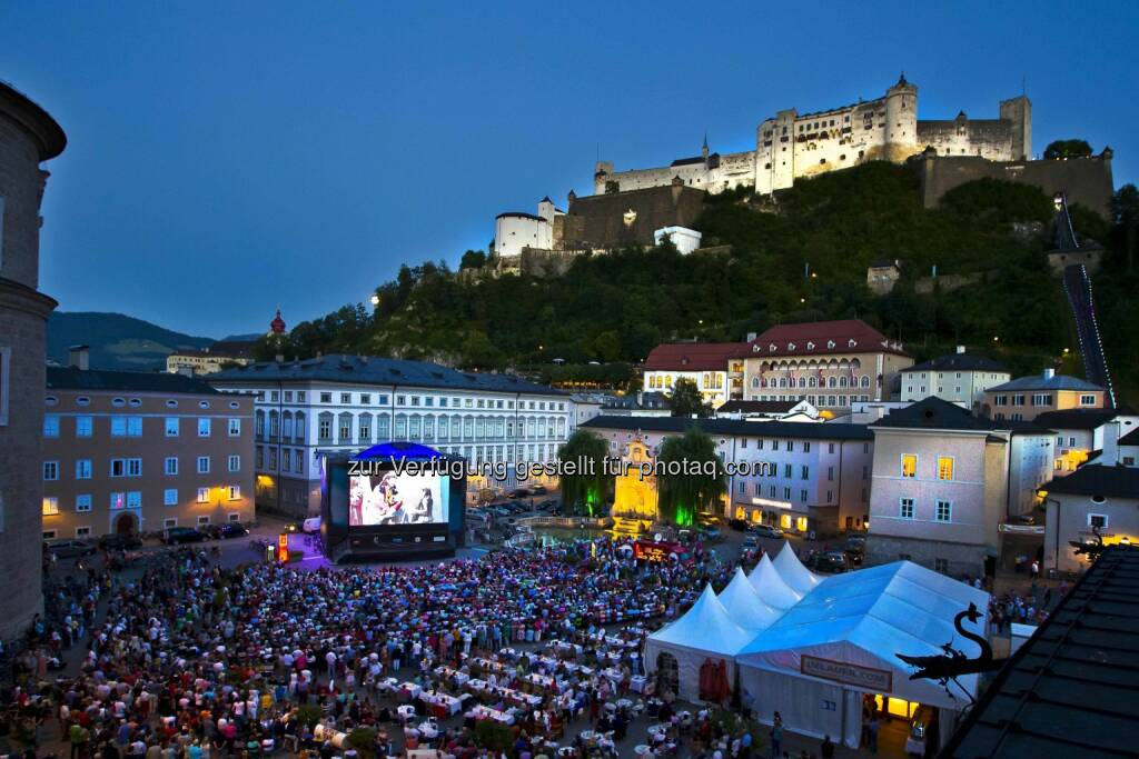 Siemens FestSpielNächte: Das Open-Air-Highlight zu den Salzburger Festspielen : © Siemens AG Österreich Communications and Government Affairs, © Aussendung (23.07.2015)