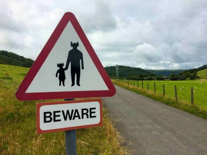 Vorsicht vor den Bullen