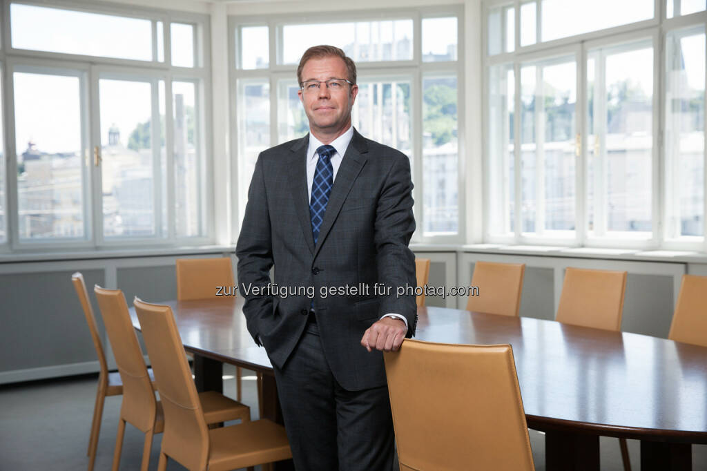 Markus Dürnberger, Leiter Asset Management Bankhaus Spängler: Konjunkturelle Aufwärtsbewegung schafft gute Rahmenbedingungen für Anleger. (c) Spängler, © Aussender (24.07.2015)