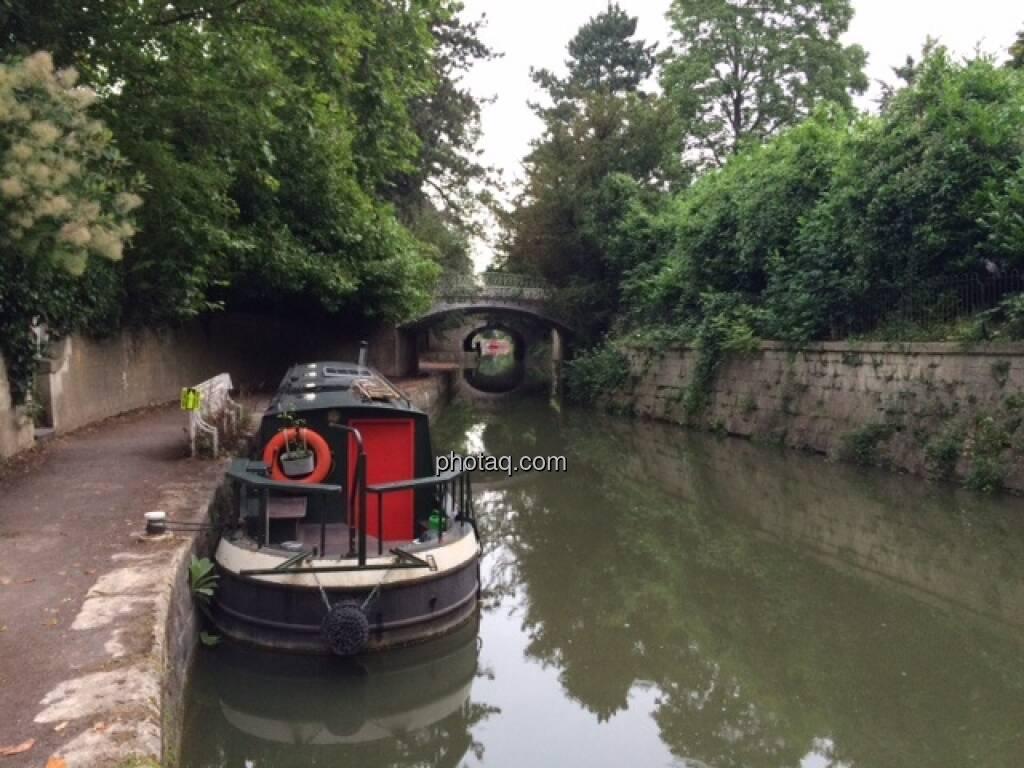 Kanal, Hausboot, England, Bath, © Martina Draper (26.07.2015)