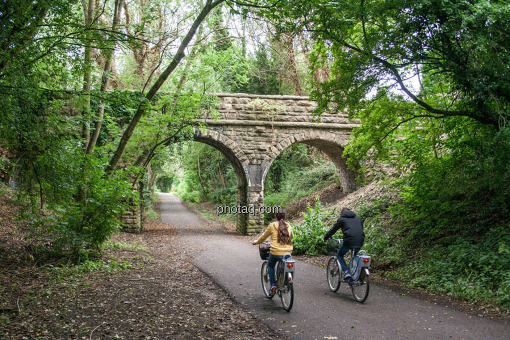Brücke, radfahren, Rad, Natur, © Martina Draper (28.07.2015)