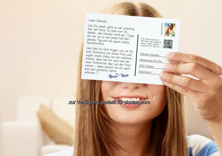 Österreichische Post AG: Post launcht neue Postkarten App : Die Postkarte - einst das beliebteste schriftliche Kommunikationsmittel der Welt - erlebt als neue Postkarten App der Österreichischen Post ein digitales Revival: © Österreichische Post AG