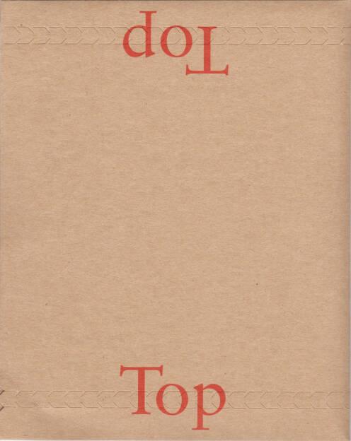Liam Magee - Top/Top, Camberwell Press 2015, Cover - http://josefchladek.com/book/liam_magee_-_toptop, © (c) josefchladek.com (29.07.2015)