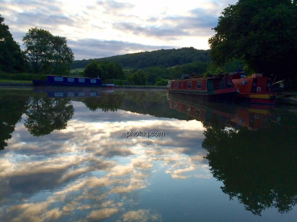 Wolkenspiegelung, © Martina Draper (29.07.2015)