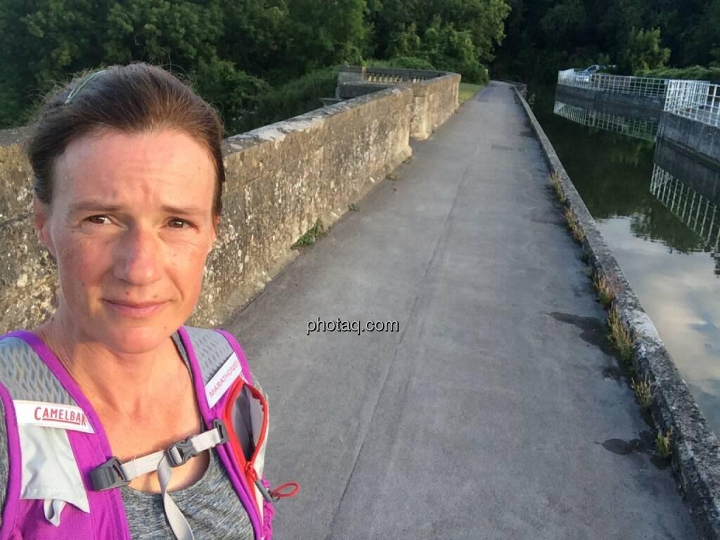 auf dem Avoncliff Aquädukt, © Martina Draper (29.07.2015)