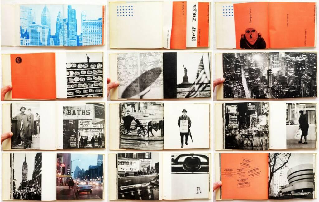 Eva Fuková, Marie Šechtlová, Miloň Novotný - New York, Mladá fronta 1966, Beispielseiten, sample spreads - http://josefchladek.com/book/eva_fukova_marie_sechtlova_milon_novotny_-_new_york, © (c) josefchladek.com (31.07.2015)