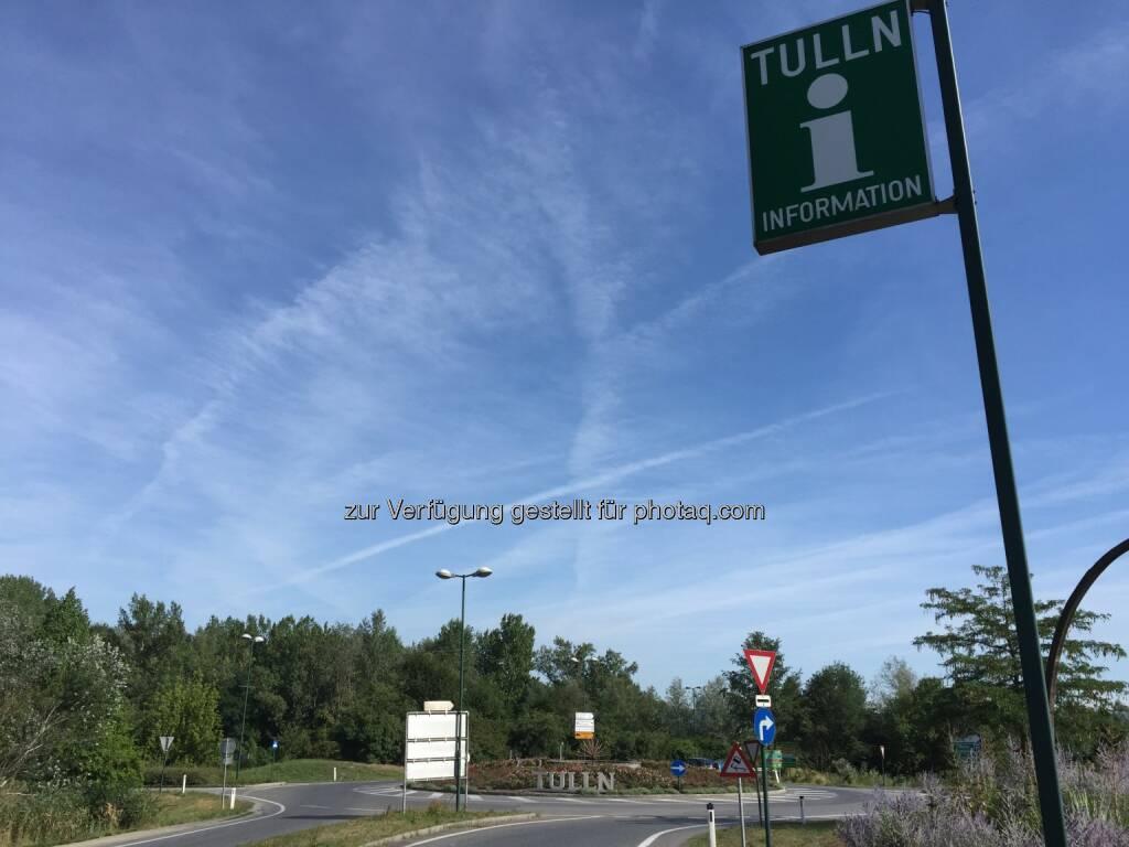 Tulln, Kreisverkehr (03.08.2015)