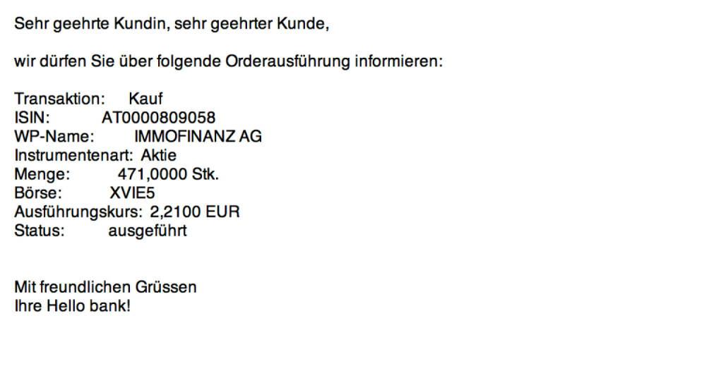 Tag 20: Kauf 471 Immofinanz zu 2,21 (03.08.2015)