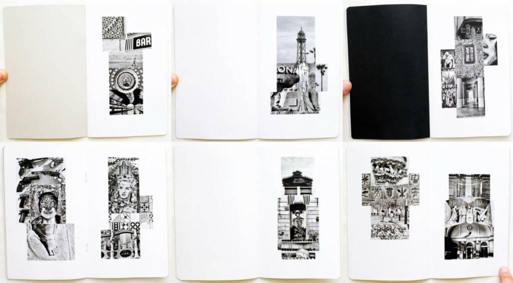 Juan Santos - BCN Photem. After Rauschenberg, Caravanbook 2015, Beispielseiten, sample spreads - http://josefchladek.com/book/juan_santos_-_bcn_photem_after_rauschenberg, © (c) josefchladek.com (03.08.2015)