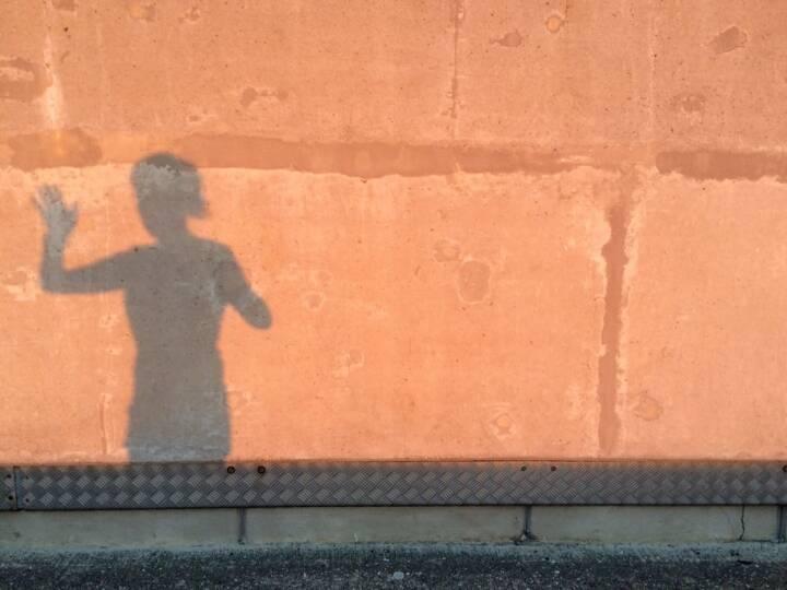 winken, Schatten