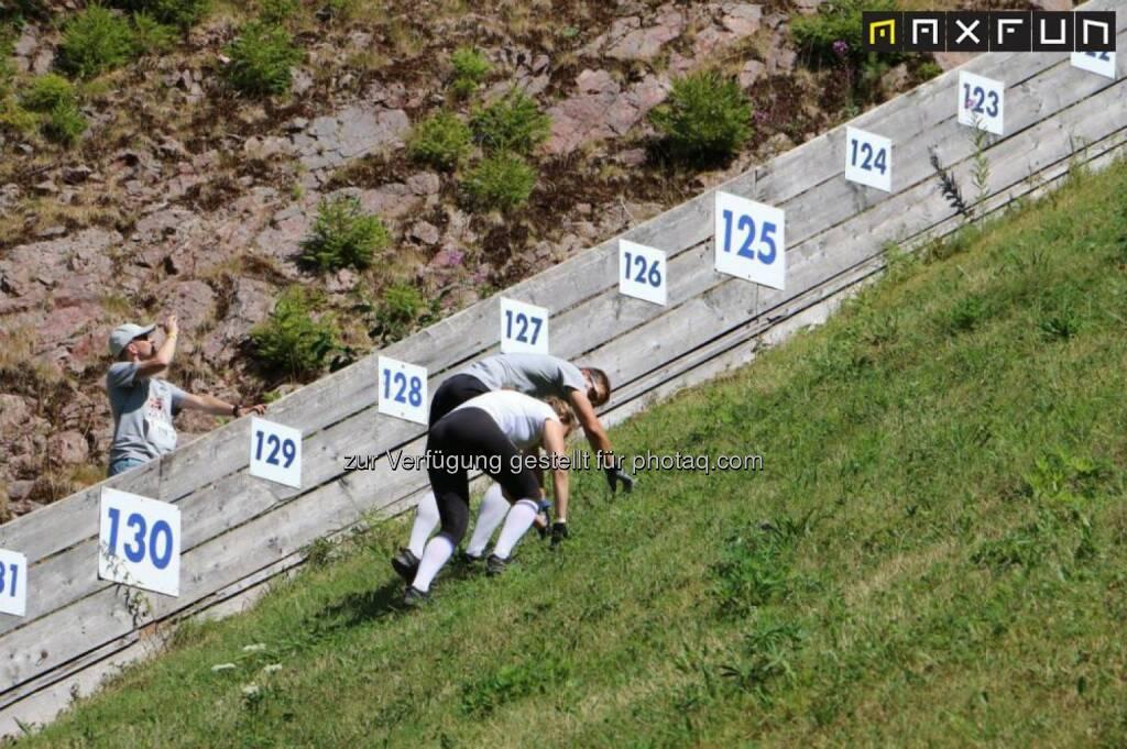 Red Bull 400, bergauf, steil, hinauf, © MaxFun Sports (05.08.2015)