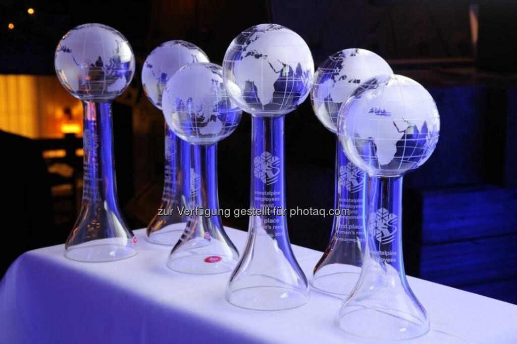 voestalpine-Mitarbeiter-WM: Die Pokale (14.03.2013)
