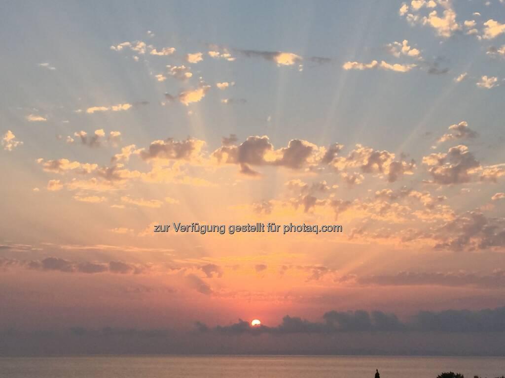 Sonnenaufgang, Griechenland, Zakynthos (07.08.2015)