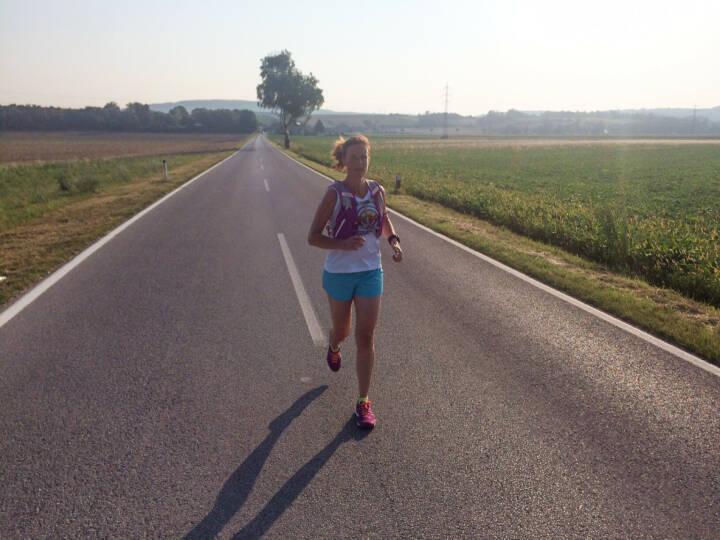 on the road zwischen Leobendorf und Spillern