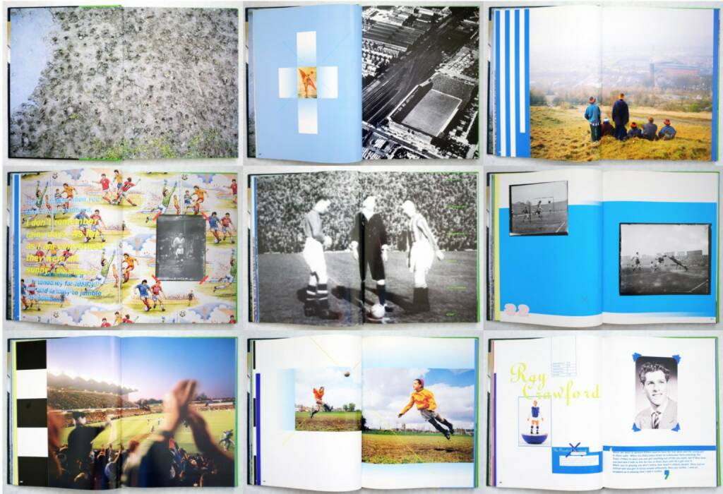 Julian Germain - In Soccer Wonderland, Booth Clibborn Editions 1994, Beispielseiten, sample spreads - http://josefchladek.com/book/julian_germain_-_in_soccer_wonderland, © (c) josefchladek.com (08.08.2015)