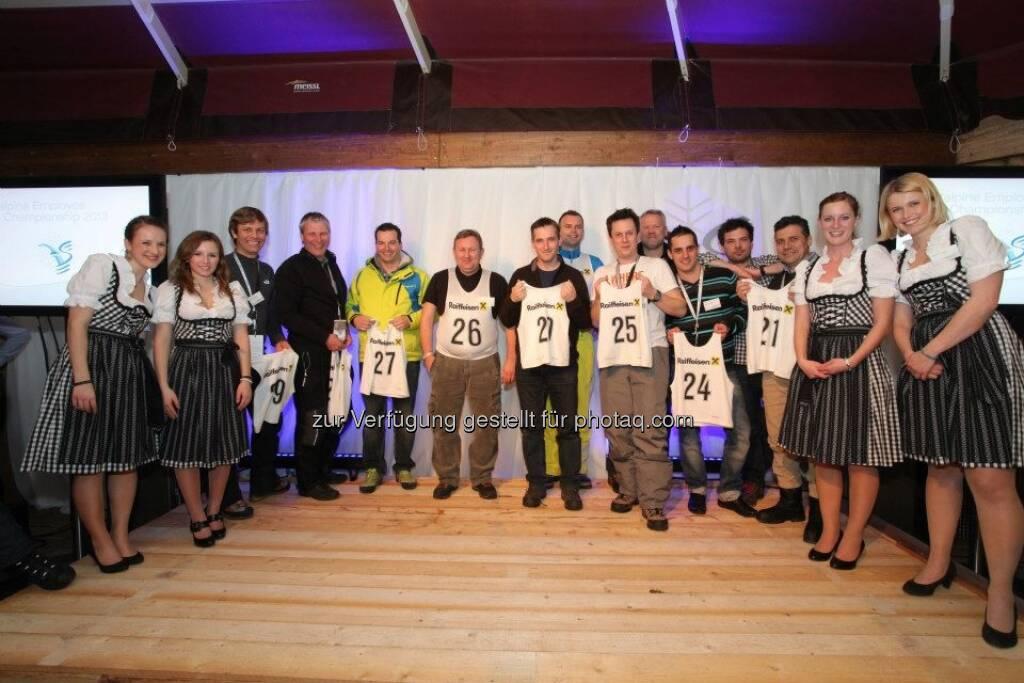 voestalpine-Mitarbeiter-WM: Startnummernauslosung (14.03.2013)