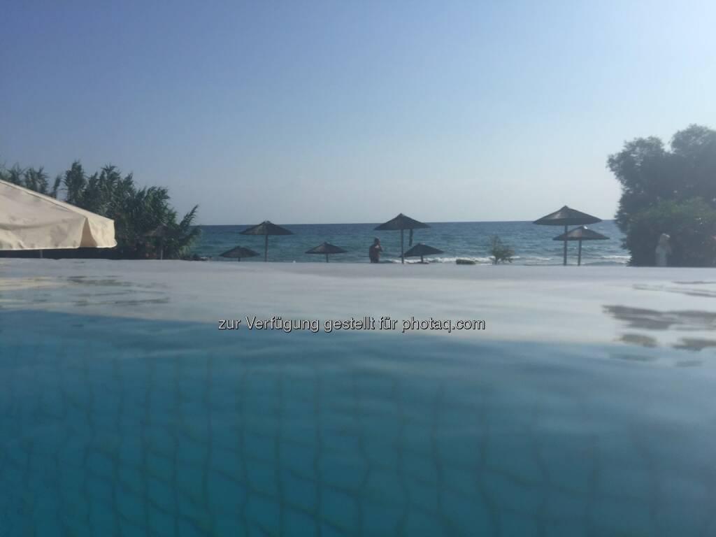 Schwimmbecken, Meer, Wasser, Zakynthos (08.08.2015)