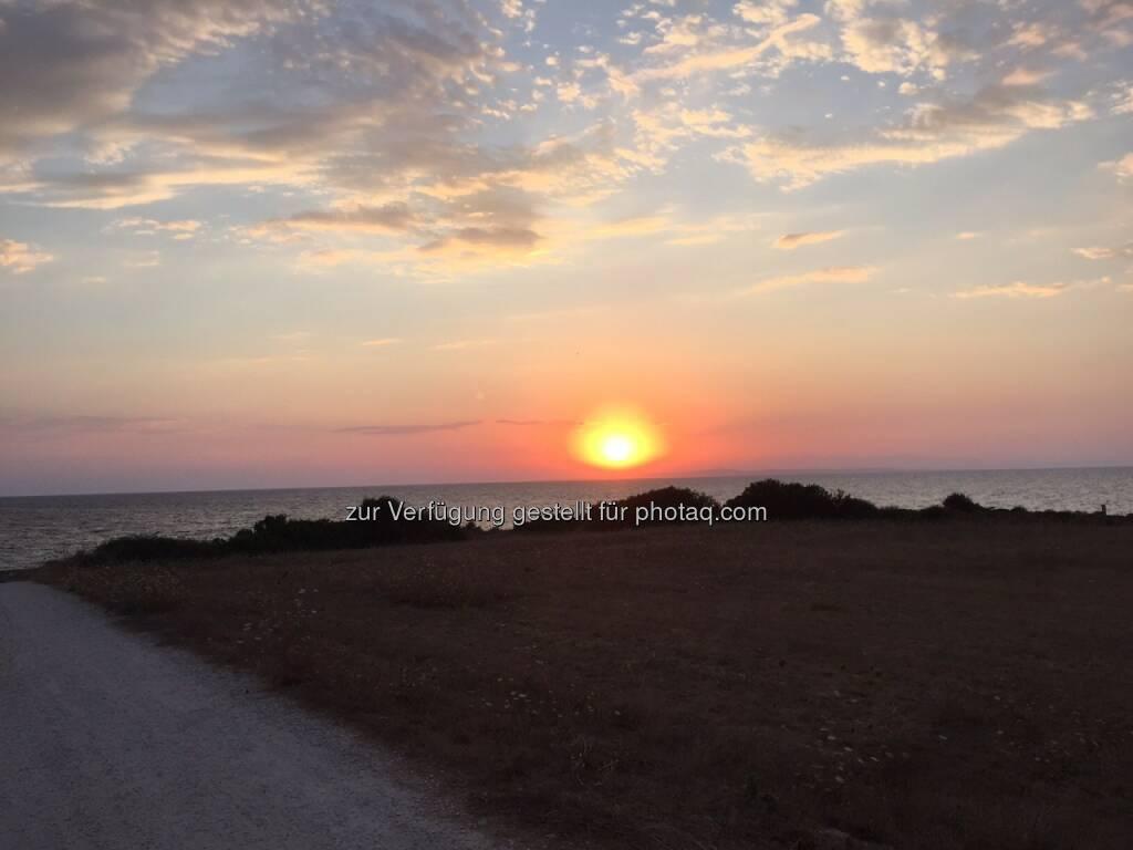 Sonnenaufgang, Meer, Zakynthos, Griechenland (09.08.2015)