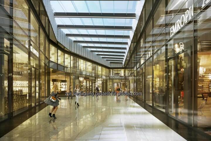 Porr errichtet Büro- und Geschäftskomplex Ethos in Warschau, (C) Kulczyk Silverstein Properties