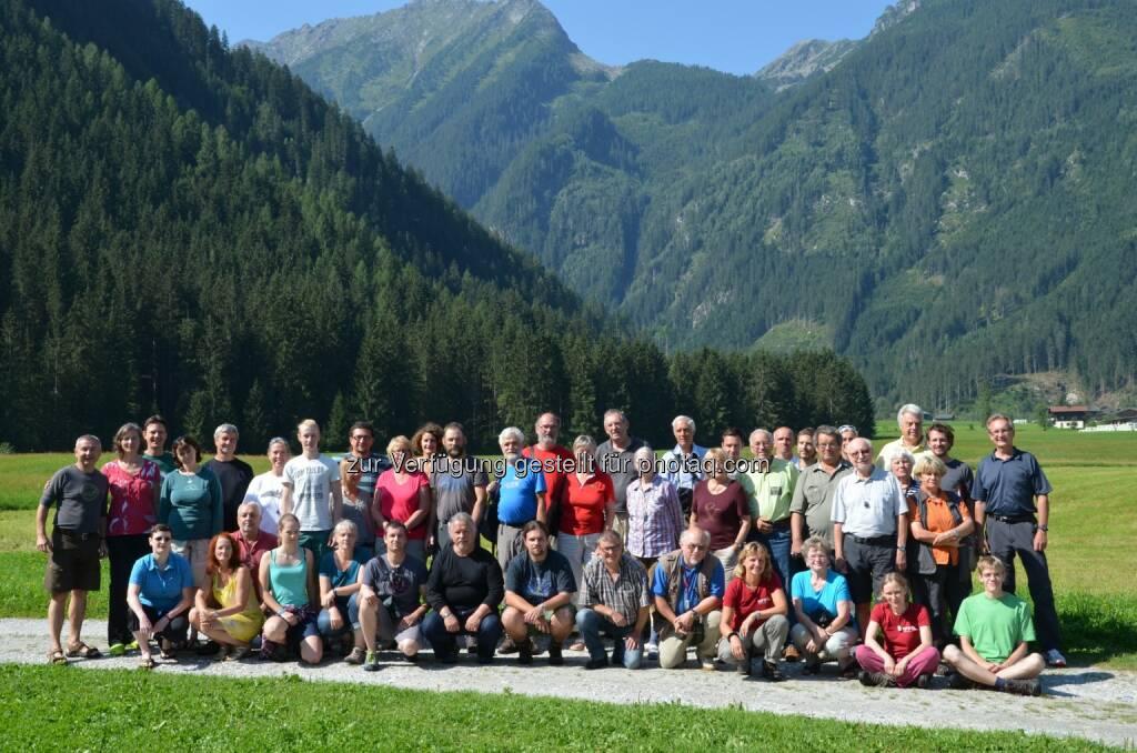 Mittersill : Rund 60 WissenschaftlerInnen nahmen am 9. Tag der Artenvielfalt im Untersulzbachtal teil : Inventur von Fauna und Flora im Nationalpark Hohe Tauern : Fotograf: Wilfried Rieder/Fotocredit: Npht/Rieder, © Aussendung (11.08.2015)