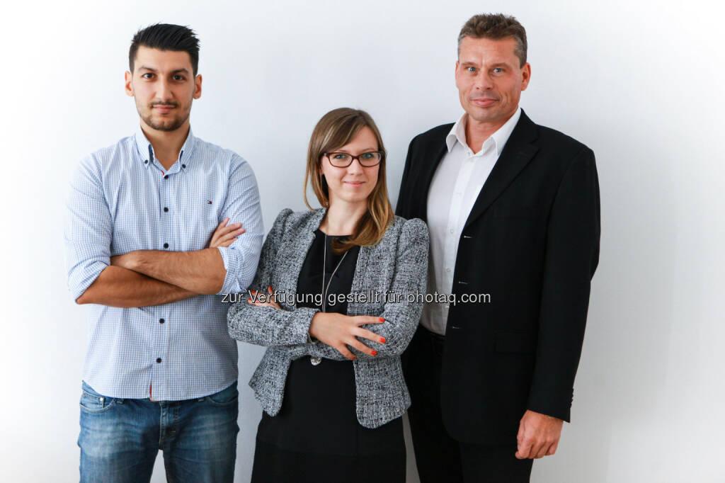 Teoman Tiftik, Barbara Litschauer, Robert Babel : Verstärkung für Forbes Austria :  Das neue Wirtschaftsmagazin für Österreich holt sich Experten an Bord : © Fotograf: Elke Mayr/Fotocredit: Forbes Austria, © Aussendung (12.08.2015)
