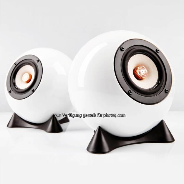 mo° sound Ball Speaker Augarten : Die beste Box ist eine Kugel : mo° sound Ball Speaker Augarten auf der Shortlist des Staatspreises Design 2015 :  © Fotograf: Martin Moravek/Fotocredit: mo° sound, © Aussender (12.08.2015)