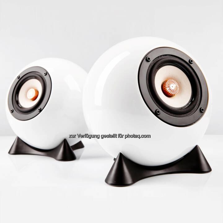 mo° sound Ball Speaker Augarten : Die beste Box ist eine Kugel : mo° sound Ball Speaker Augarten auf der Shortlist des Staatspreises Design 2015 :  © Fotograf: Martin Moravek/Fotocredit: mo° sound