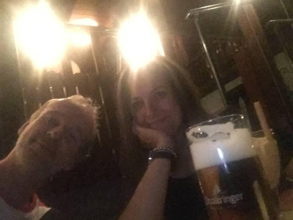 Mit Barbara Berger (Beiersdorf) beim Hofbauer (13.08.2015)