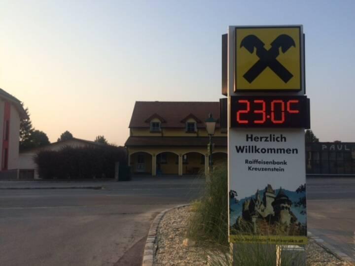 23 Grad, Raiffeisen