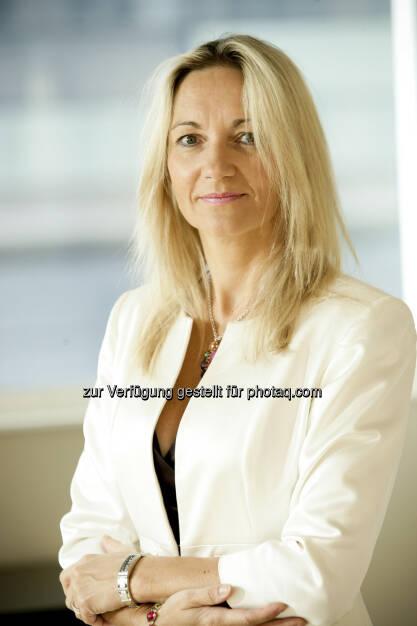 M&G erzielt 2012 Mittelzuflüsse und Gewinne auf Rekordniveau, im Bild Österreich-Chefin Karola Gröger (c) M&G (15.03.2013)