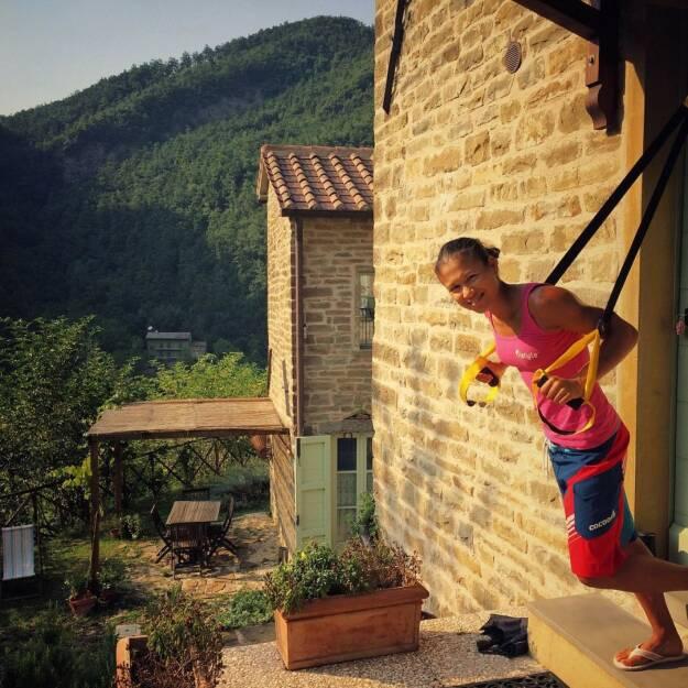 Training in Italien @Tristyle (13.08.2015)