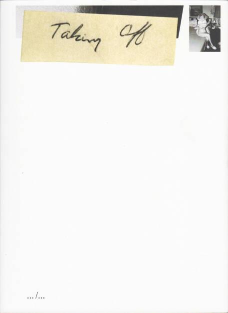 Mariken Wessels - Taking Off. Henry my neighbor, Art Paper Editions 2015, Cover - http://josefchladek.com/book/mariken_wessels_-_taking_off_henry_my_neighbor, © (c) josefchladek.com (14.08.2015)
