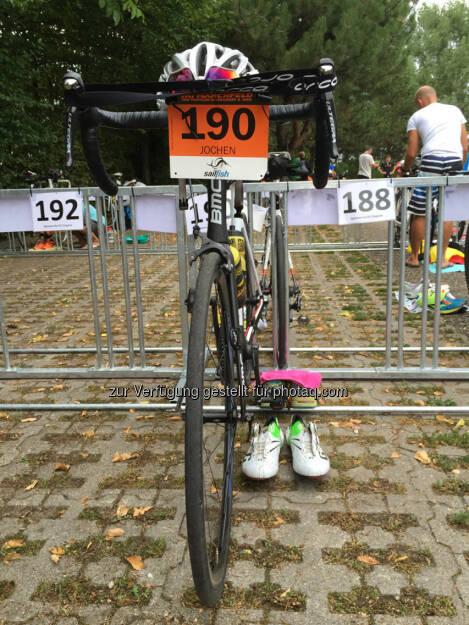 Fahrrad, Wechselzone (16.08.2015)
